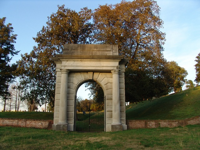 Old Cemetry Entrance Arch